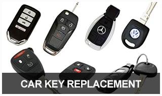 Image of car keys, key fobs, transponder keys, and car remotes