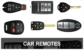Image of a selection of car remotes
