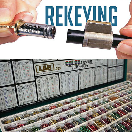Lock Rekeying is an affordable option