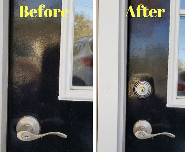 Residential Deadbolt Installation