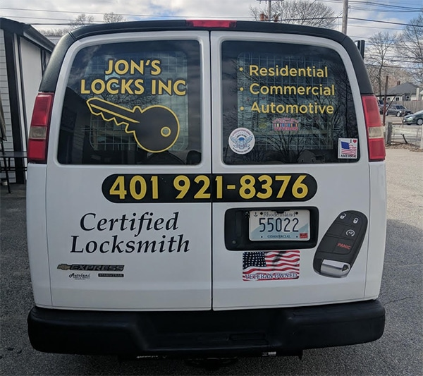 Jon's Locks Mobile Locksmith Truck