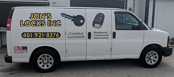 Jon's Mobile Locksmith Truck
